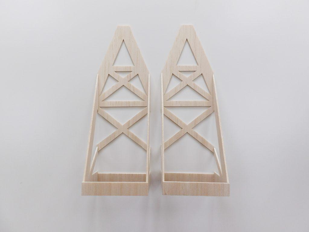 balsa wood ferris wheel space craft dundee model shop