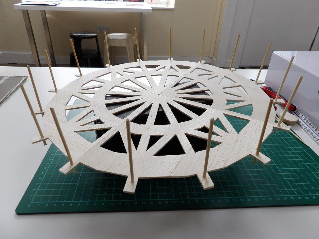 balsa wood ferris wheel space craft dundee