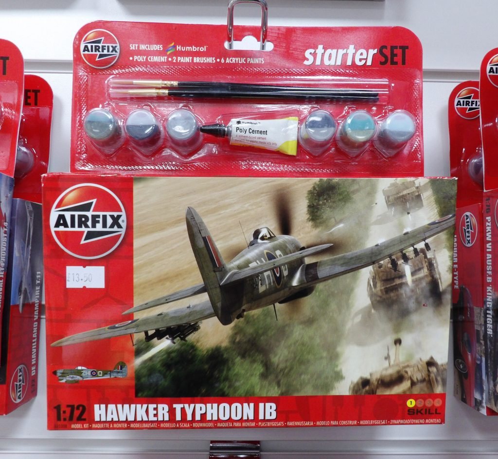 Airfix Typhoon Space Craft Broughty Ferry