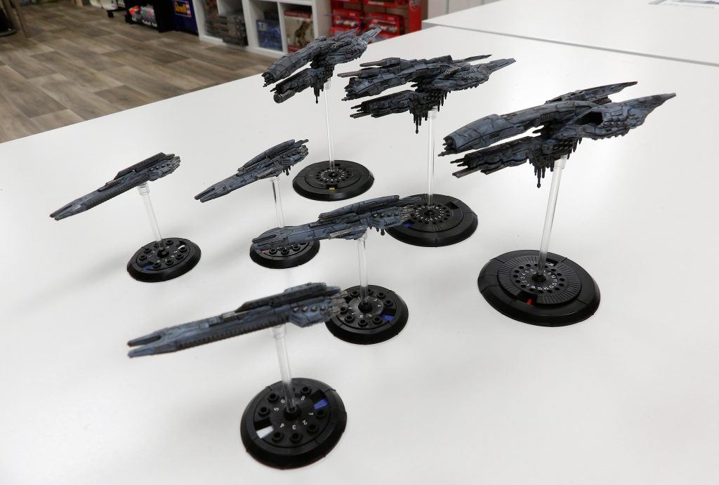Dropfleet Commander Two Player Set Broughty Ferry Space Craft