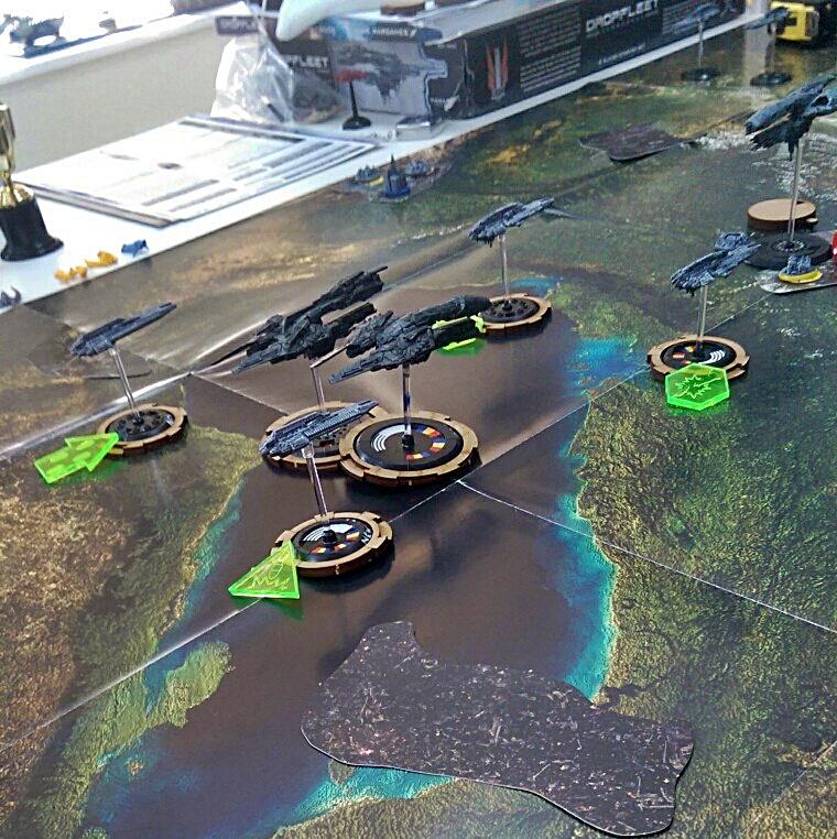 Space Craft Dundee Dropfleet UCM