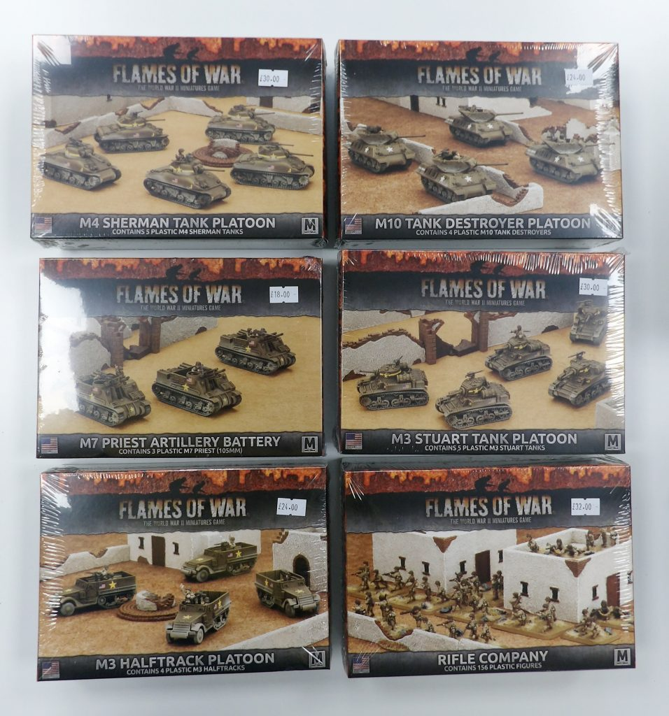 Flames of War Tanks Space Craft Model Shop Dundee Broughty Ferry