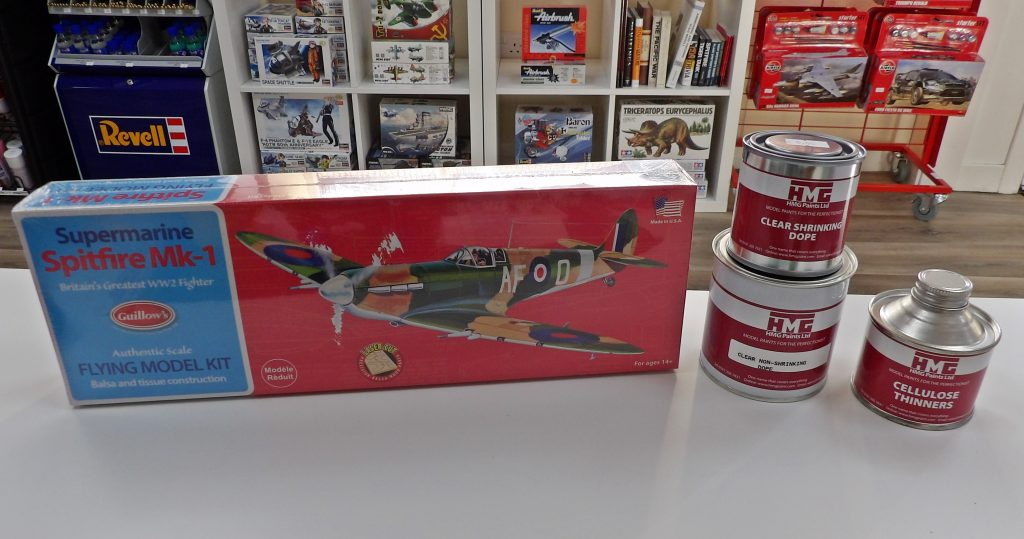 Space Craft Model Shop Dundee Guillow's Kit Dope Thinner