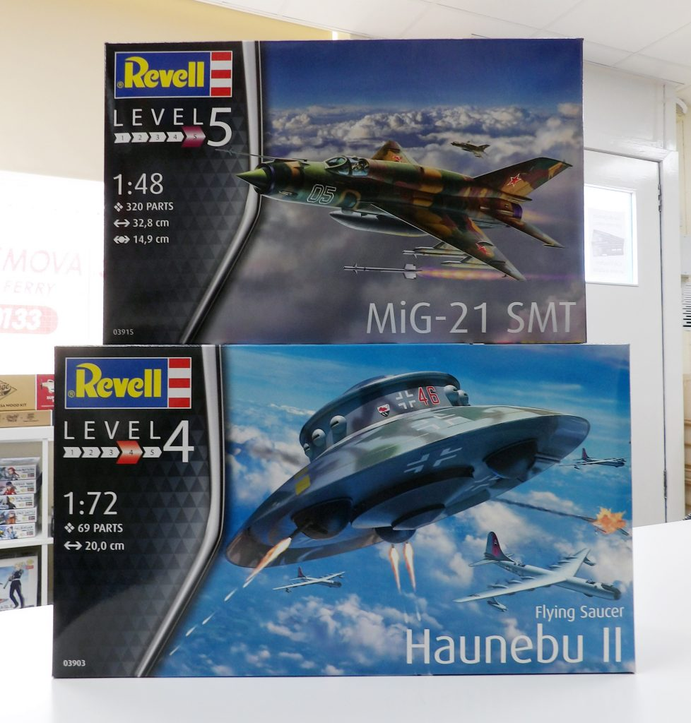 Revell Model Shop Broughty Ferry Space Craft Dundee