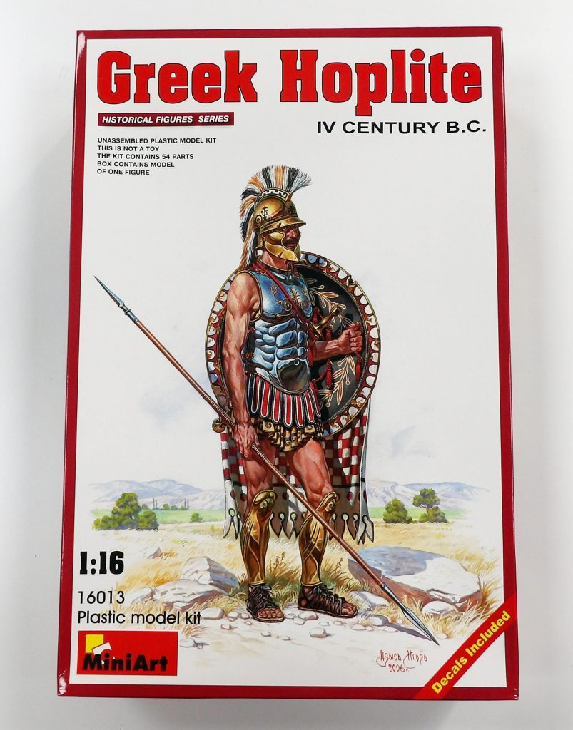 Miniart Greek Hoplite Space Craft Broughty Ferry Dundee Model Shop Scotland