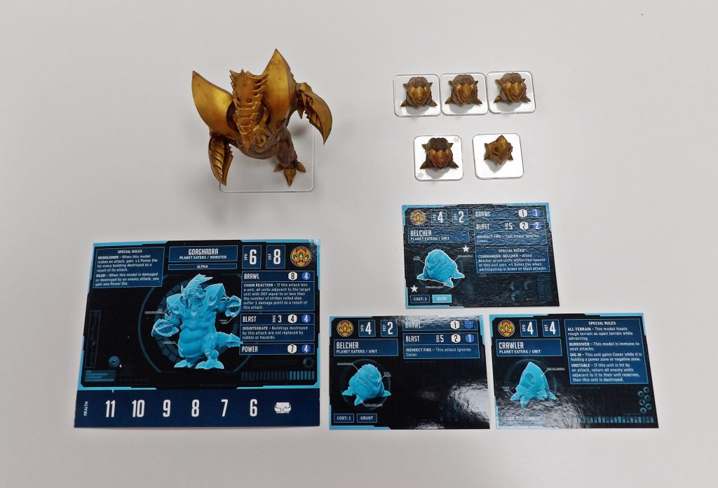 Monsterpocalypse Starter Set Space Craft Broughty Ferry Dundee Scotland Shop