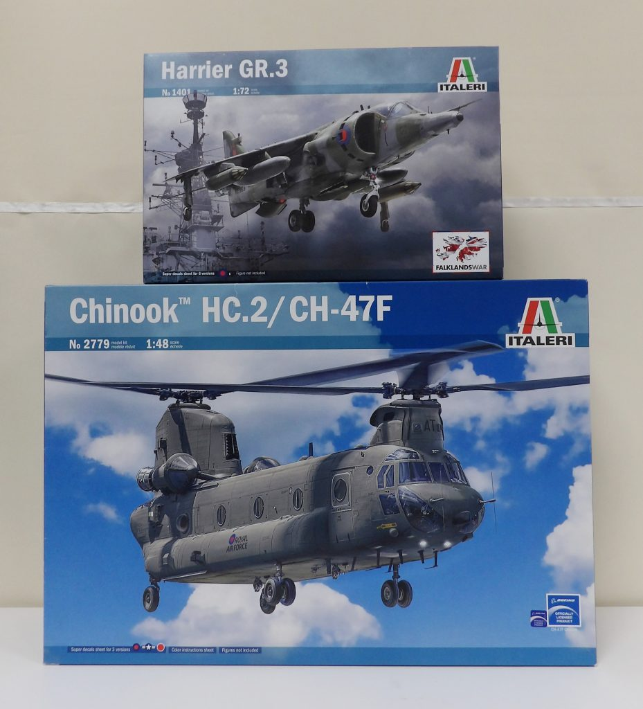 Space Craft Model Shop Dundee Scotland Italeri Chinook