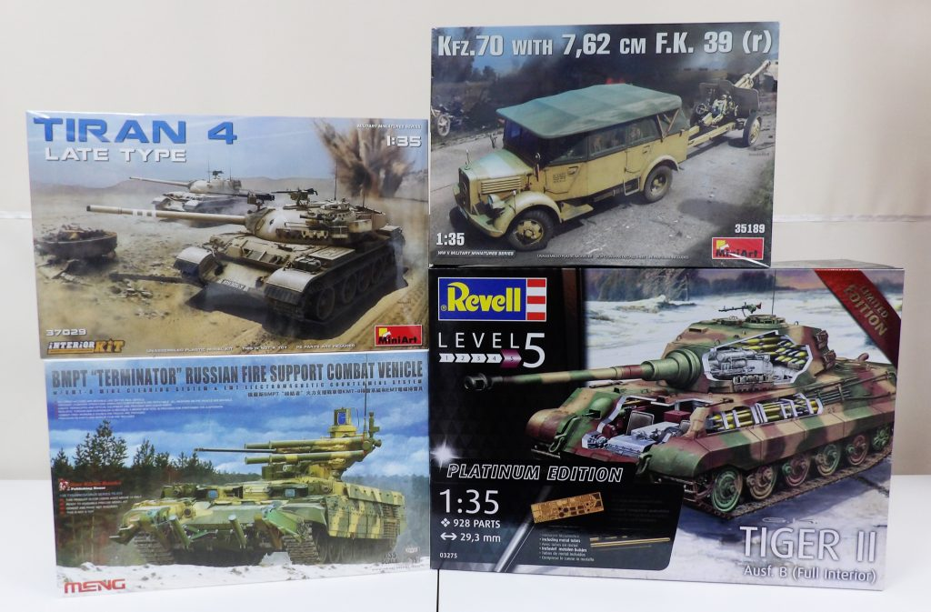 Miniart Revell Meng Hobby Shop Broughty Ferry Dundee Scotland
