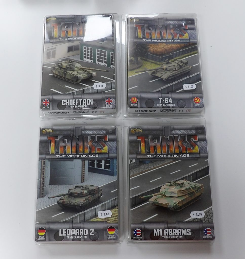 Tanks The Modern Age GF9 Starter Set Space Craft Model Shop Scotland Dundee