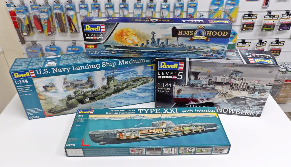 Revell Plastic Kit Model Shop Space Craft Broughty Ferry Scotland