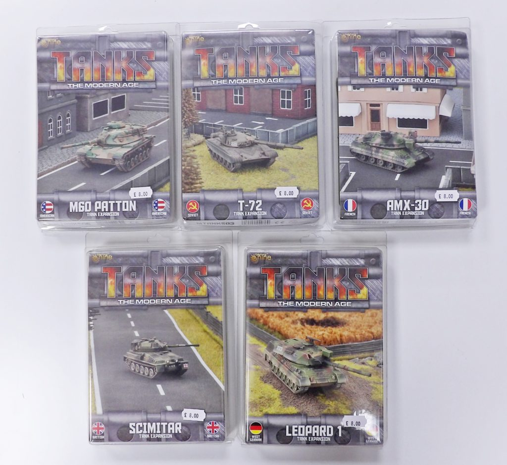 Tanks the Modern Age GF9 Space Craft Model Shop Dundee Scotland