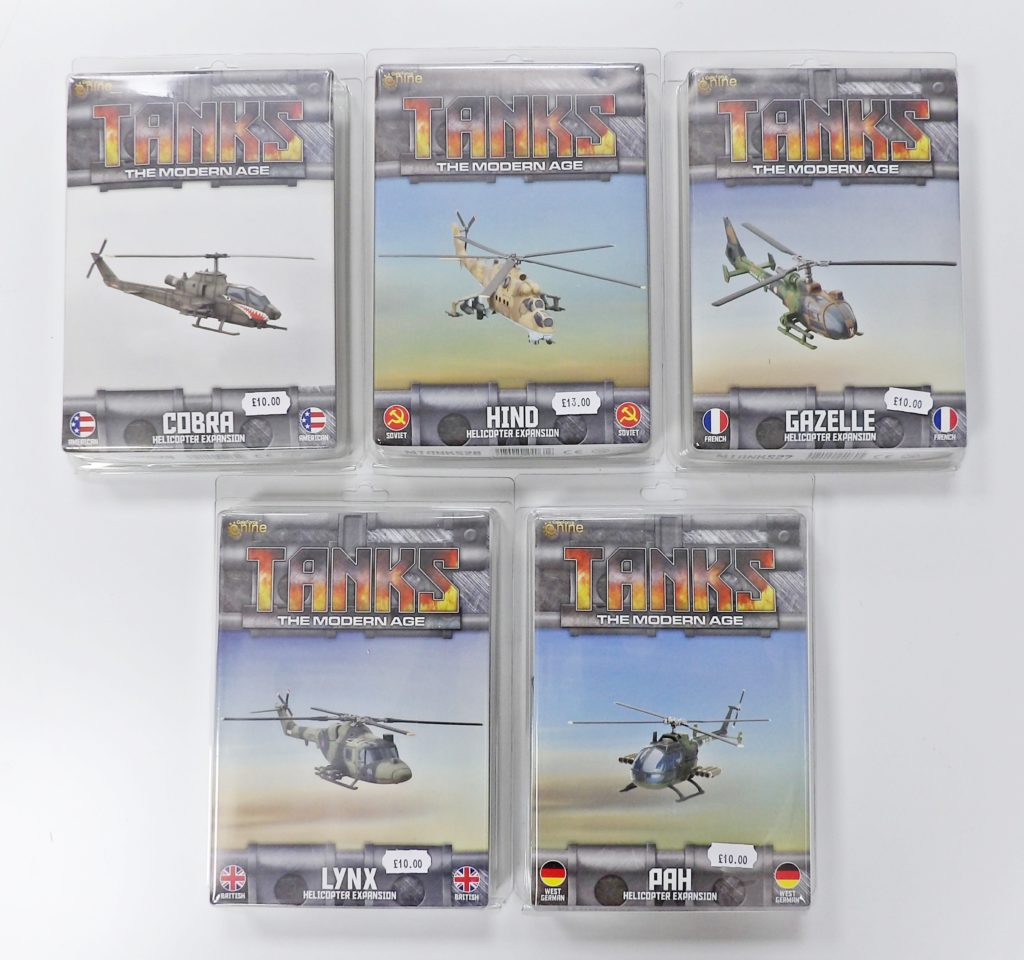 Tanks the Modern Age Helicopters GF9 Space Craft Model Shop Dundee Scotland