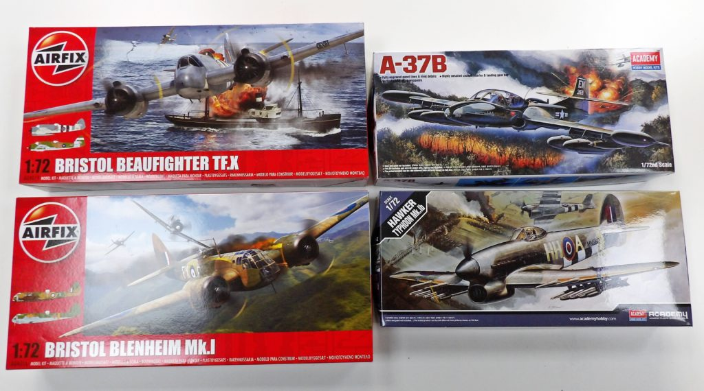 Airfix Academy Space Craft Broughty Ferry Dundee Scotland Model Shop Scale Kits