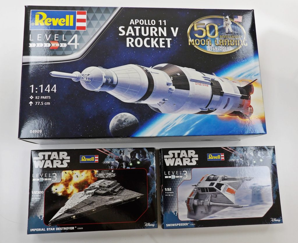Revell Space Craft Model Shop Dundee Broughty Ferry Scotland Fife Angus Kit