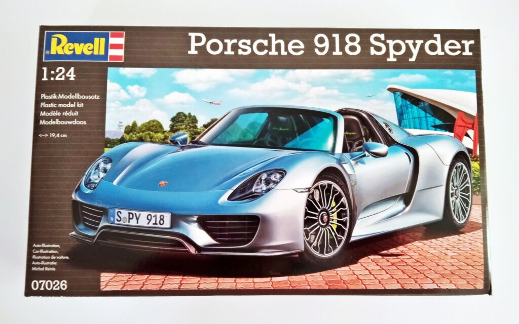 Scale Cars Spyder Porsche Space Craft Models Broughty Ferry Dundee Scotland Angus
