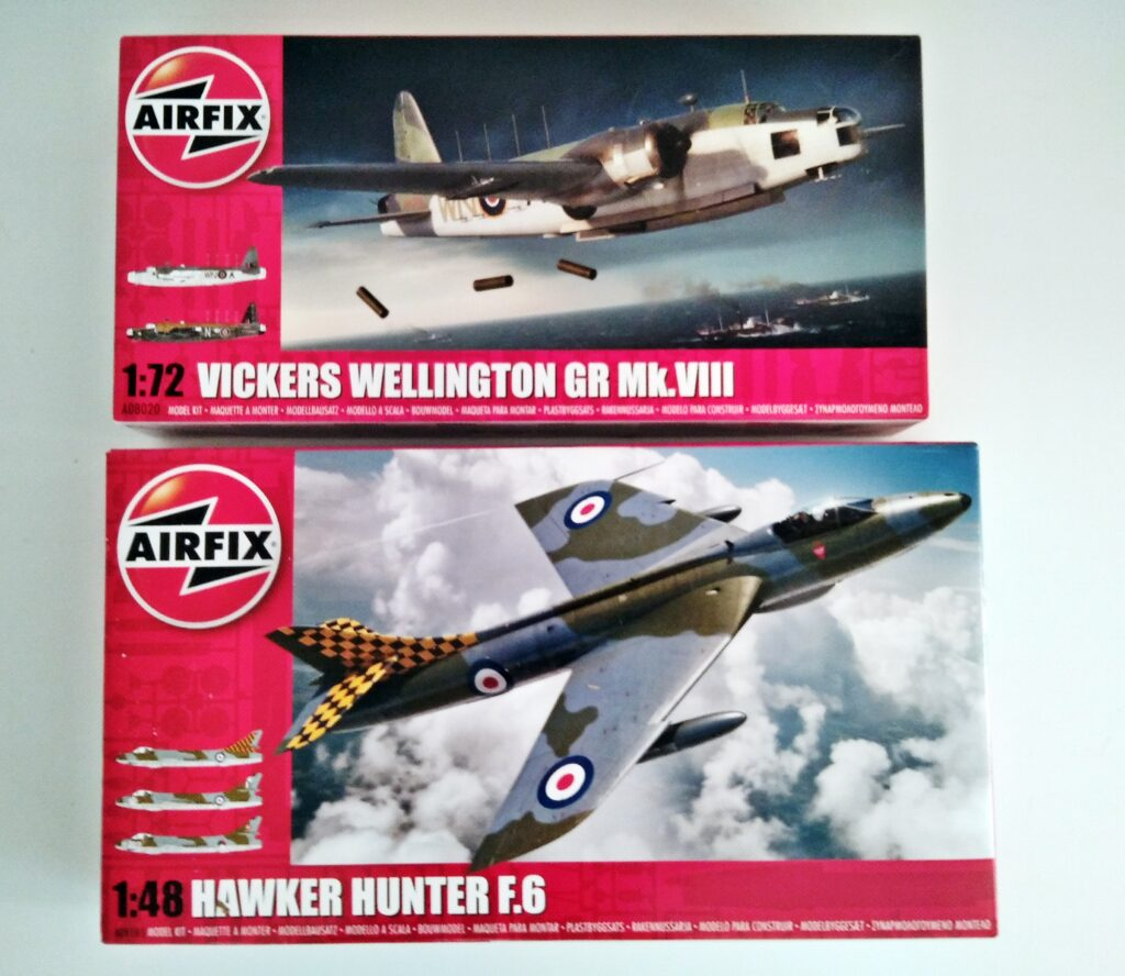 Airfix aircraft airplane plane Military Moon Landing Space Craft Broughty Ferry Dundee Scotland UK Model Shop Scale Kits