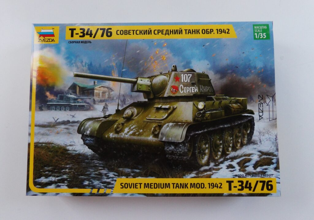 Zvezda Model Kit 1/35 Military Tank Space Craft Models Broughty Ferry Dundee Scotland Angus