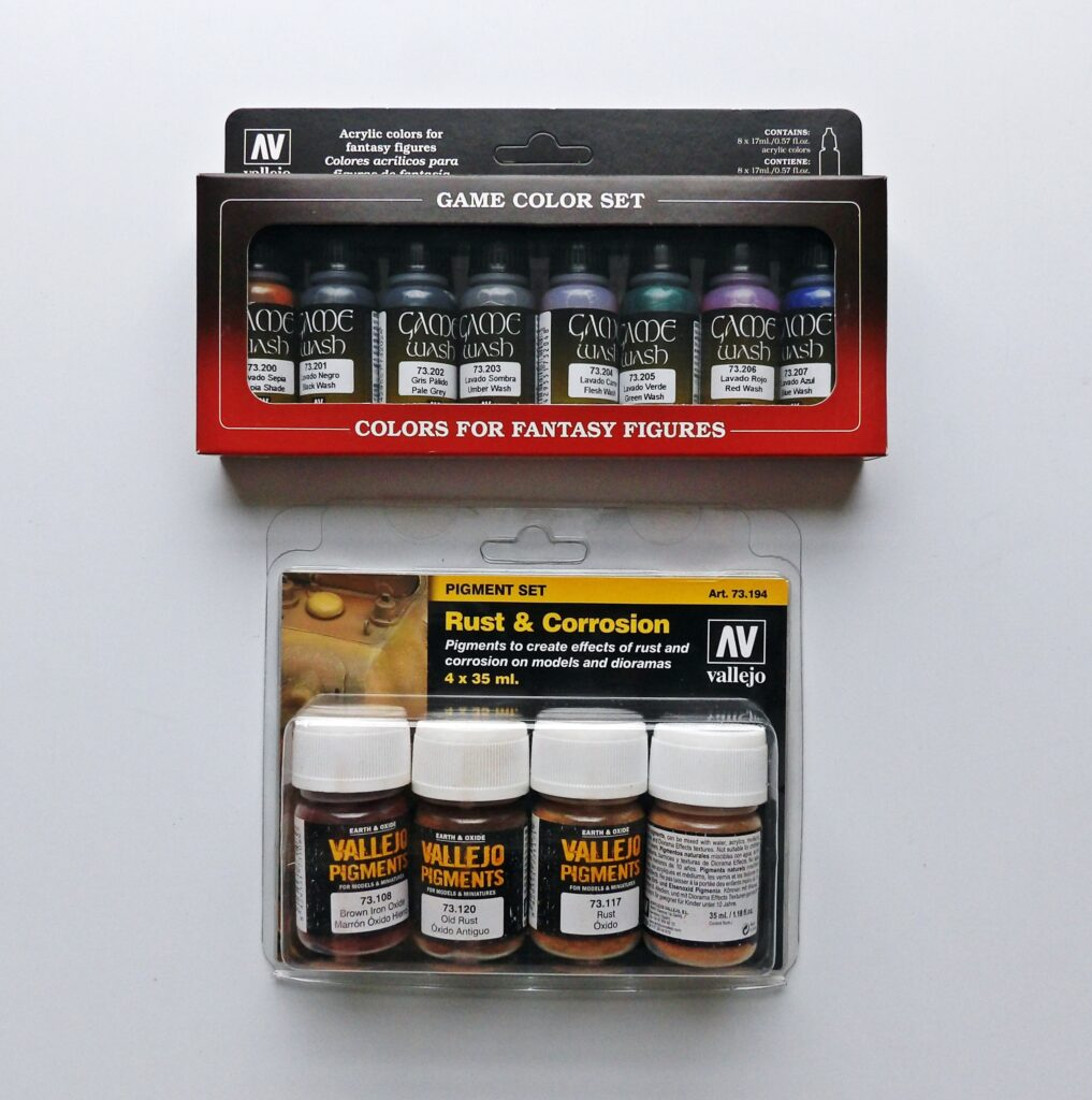 Vallejo Paint Weathering Set Space Craft Models Broughty Ferry Dundee Scotland Angus