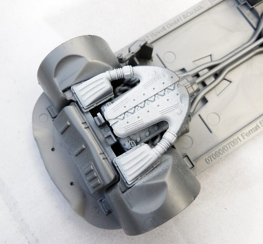 Construction Model Build Revell 1:24 Car SA Aperta Ferrari