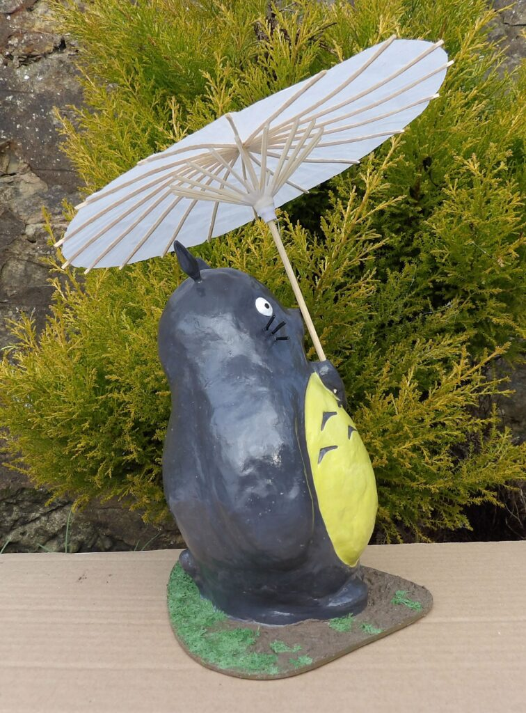 My Neighbour Totoro Clay Model Shop Broughty Ferry Dundee Scotland Art Scratch Build