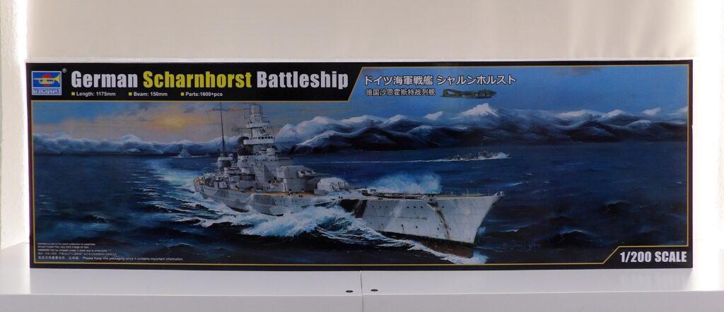 Trumpeter 1:200 Battleship Space Craft Model Broughty Ferry Scotland Dundee Shop
