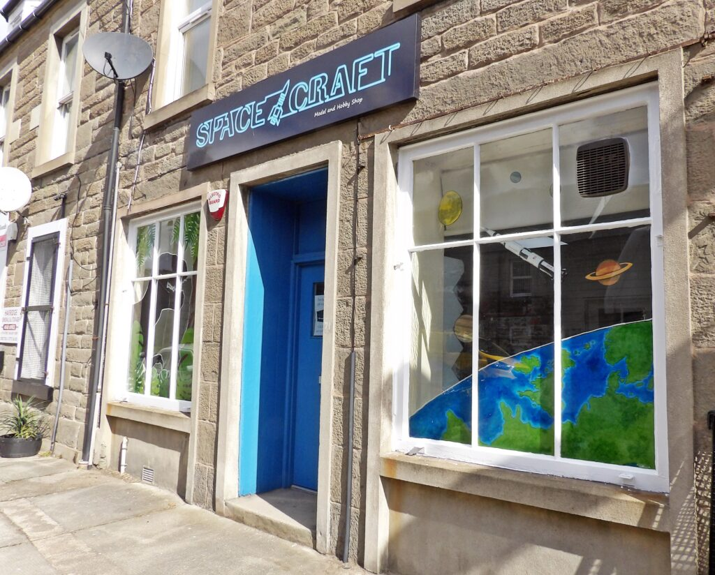 Space Craft Model Broughty Ferry Dundee Scotland Shop